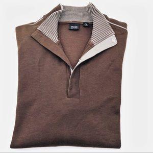 Hugo Boss 100% Quality Corron Pull-over Sweater